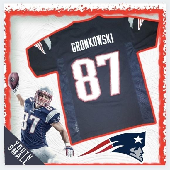 patriots gronkowski youth jersey